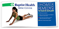 Home Remedy Book for spine exercises to relieve back pain